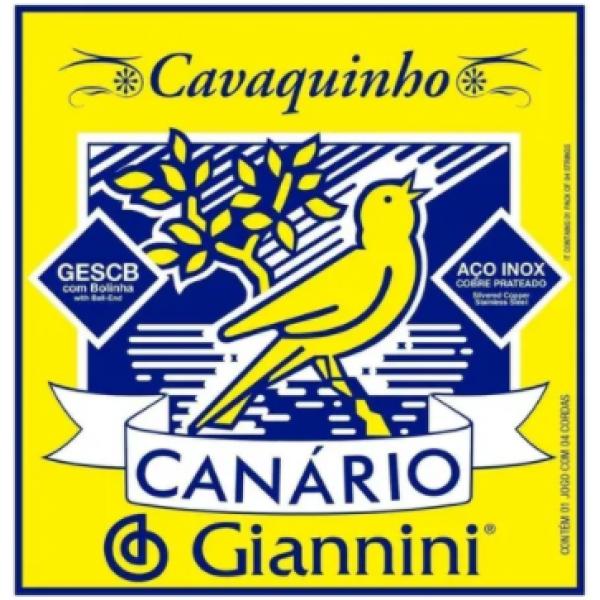 Encordoamento Aço Giannini Cavaquinho GESCB