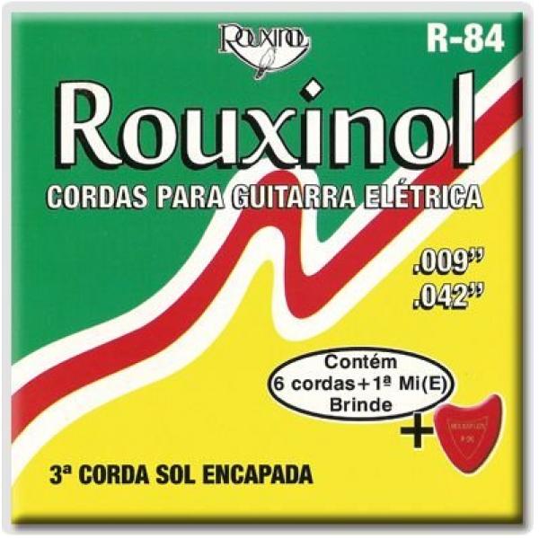 Encordoamento Rouxinol Guitarra Elétrica R-84 - 009-042