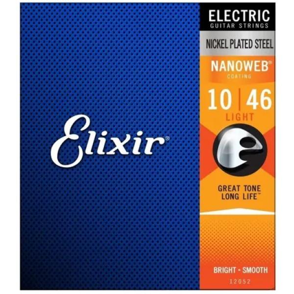 Encordoamento Elixir Guitarra Elétrica 12052 - 010-046