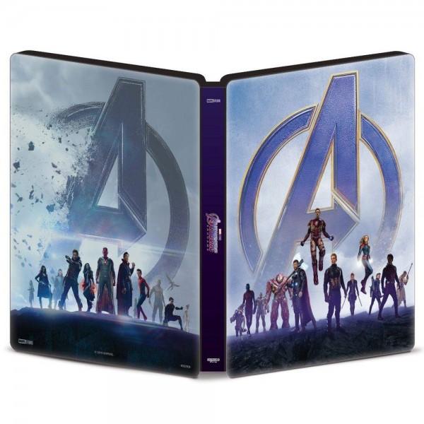 Blu-Ray Vingadores - Ultimato - Steelbook (DUPLO)