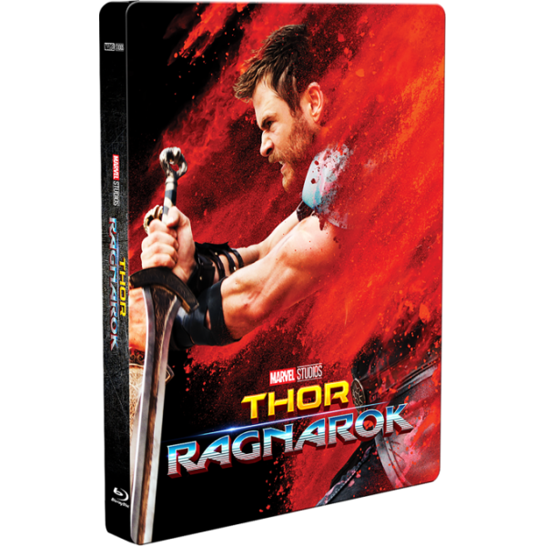 Blu-Ray 3D + Blu-Ray Thor - Ragnarok (Steelbook)