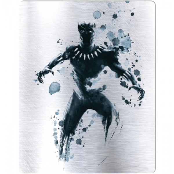 Blu-Ray 3D + Blu-Ray - Pantera Negra (Steelbook)