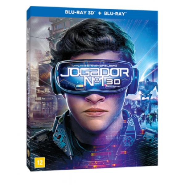Blu-Ray 3D + Blu-Ray - Jogador Nº 1