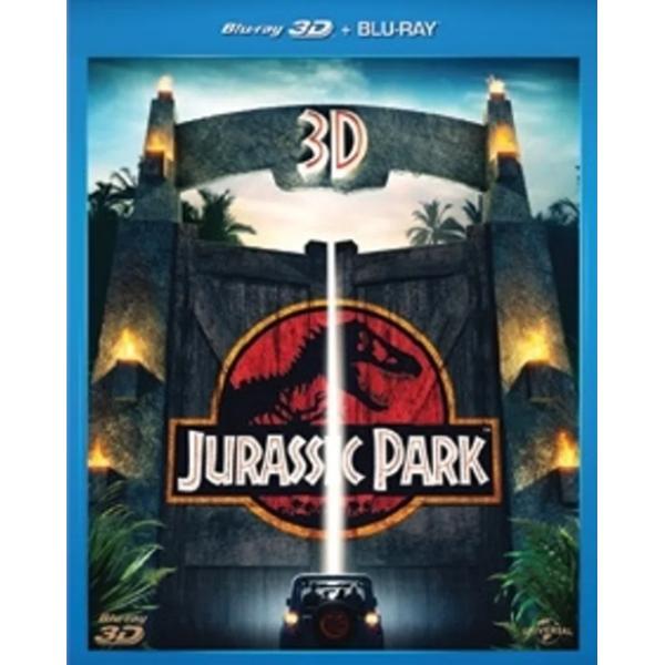 Blu-Ray 3D + Blu-Ray  - Jurassic Park