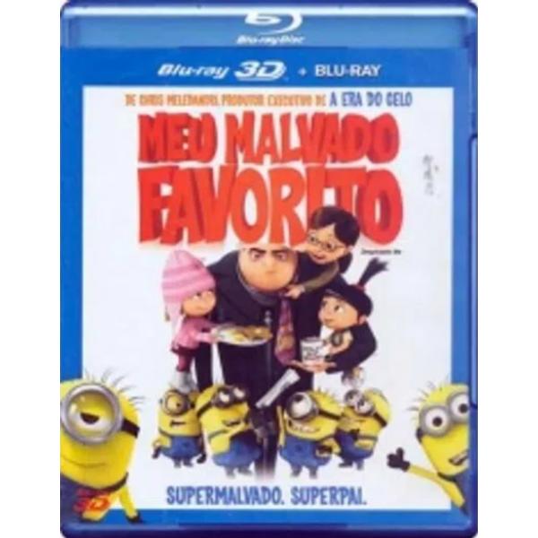 Blu-Ray 3D + Blu-Ray Meu Malvado Favorito