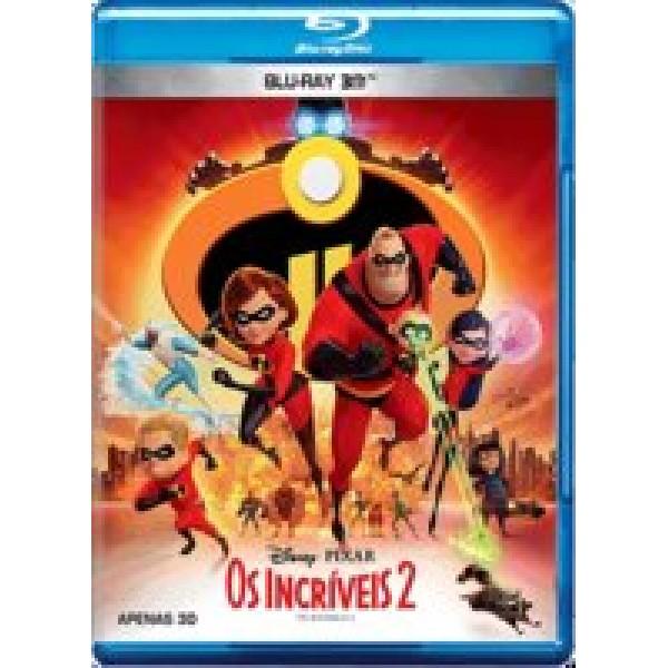 Blu-Ray 3D Os Incríveis 2