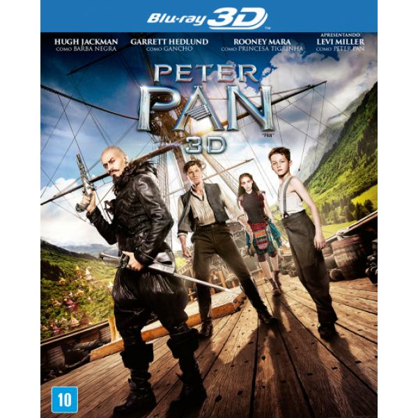 Blu-Ray 3D + Blu-Ray Peter Pan