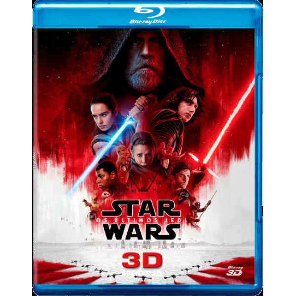 Blu-Ray 3D Star Wars - Os Últimos Jedi