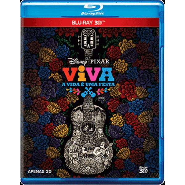 Blu-Ray 3D Viva - A Vida É Uma Festa