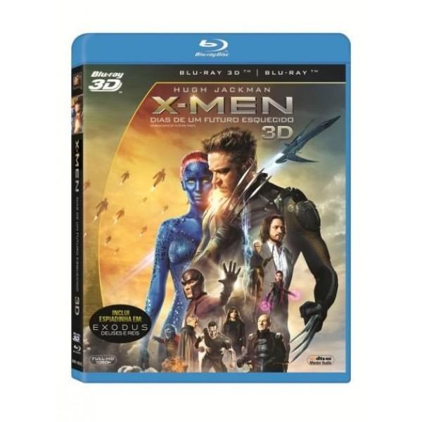 Blu-Ray 3D + Blu-Ray X-Men - Dias de Um Futuro Esquecido