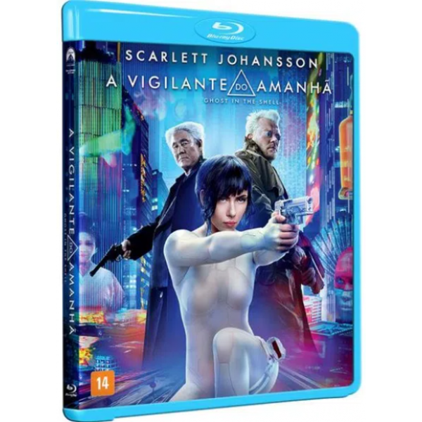 Blu-Ray A Vigilante Do Amanhã
