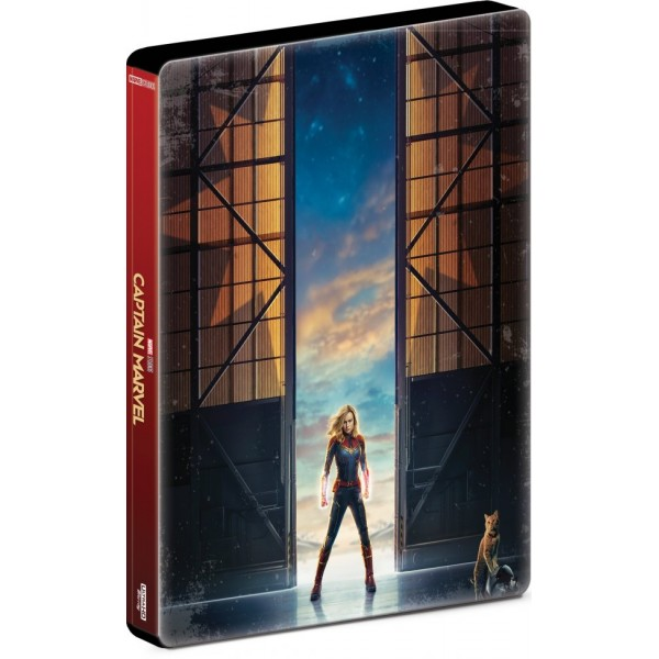 Blu-Ray Capitã Marvel (Steelbook)