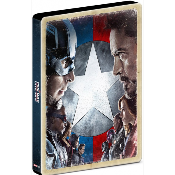 Blu-Ray Capitão América - Guerra Civil (Steelbook)