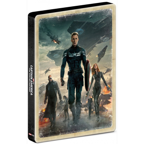 Blu-Ray Capitão América - Soldado Invernal (Steelbook)