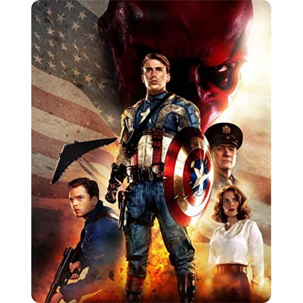 Blu-Ray Capitão América - O Primeiro Vingador (Steelbook)