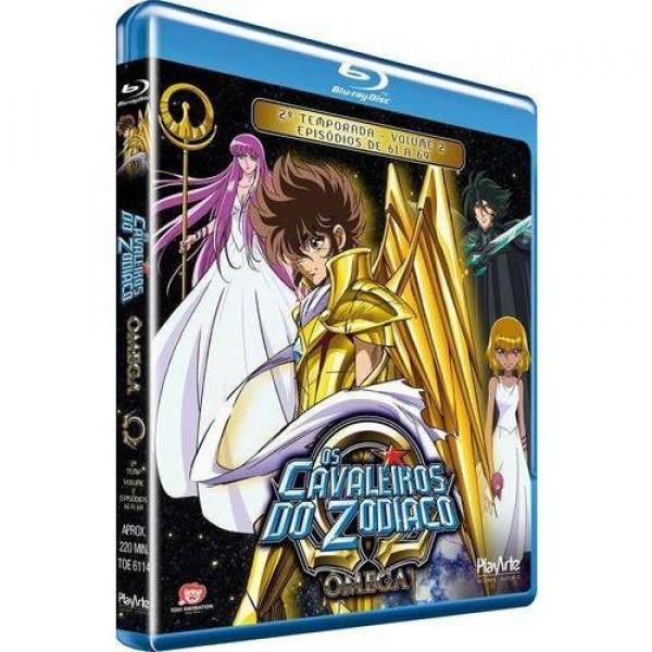 Blu-Ray Os Cavaleiros Do Zodíaco: Ômega - 2ª Temporada Vol. 2