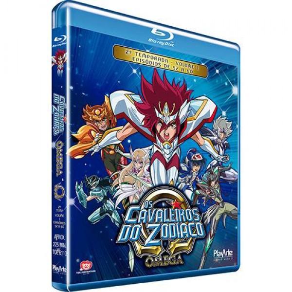 Blu-Ray Os Cavaleiros do Zodíaco: Ômega - 2ª Temporada Vol. 1