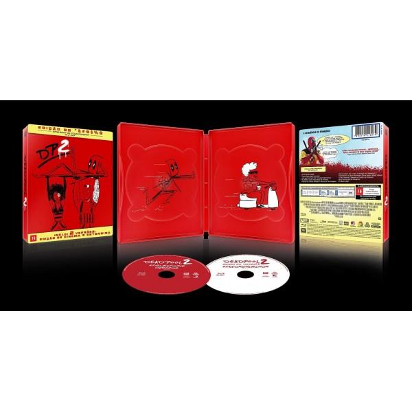 Blu-Ray Deadpool 2 (Edição de Colecionador - Steelbook)