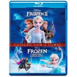 Blu-Ray Frozen - Coleção com 2 Filmes (DUPLO)