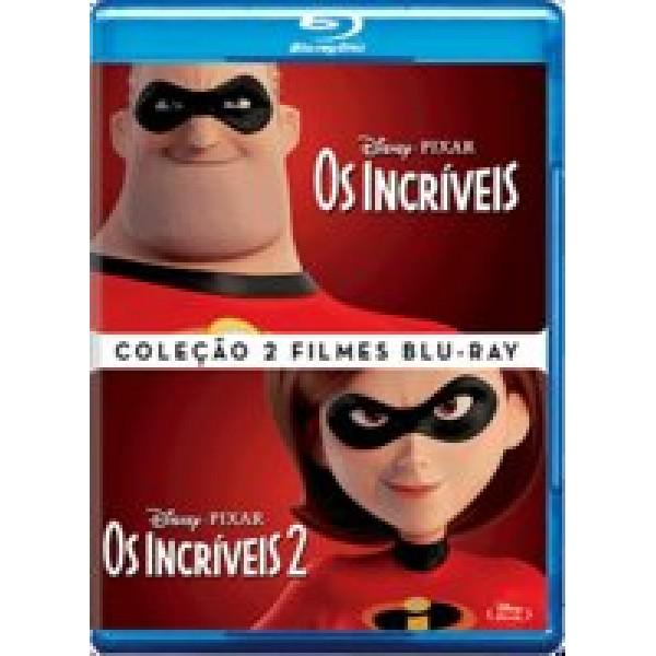 Blu-Ray Os Incríveis - Coleção 2 Filmes (DUPLO)