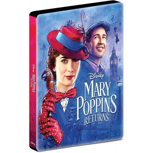 Blu-Ray O Retorno de Mary Poppins (Steelbook)