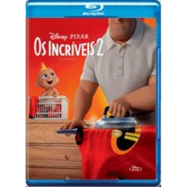 Blu-Ray Os Incriveis 2