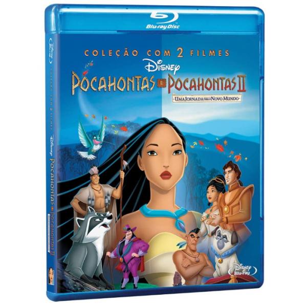 Blu-Ray Pocahontas + Pocahontas 2 (Coleção Com 2 Filmes)