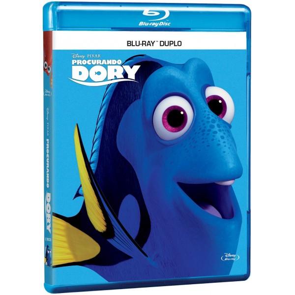 Blu-Ray Procurando Dory (DUPLO)
