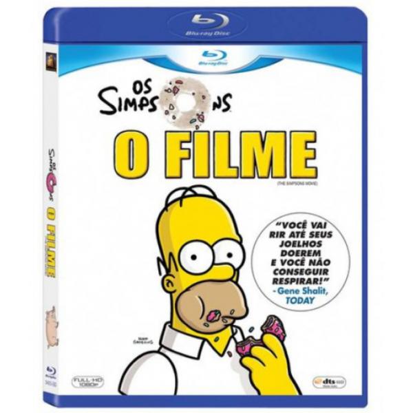 Blu-Ray Os Simpsons - O Filme