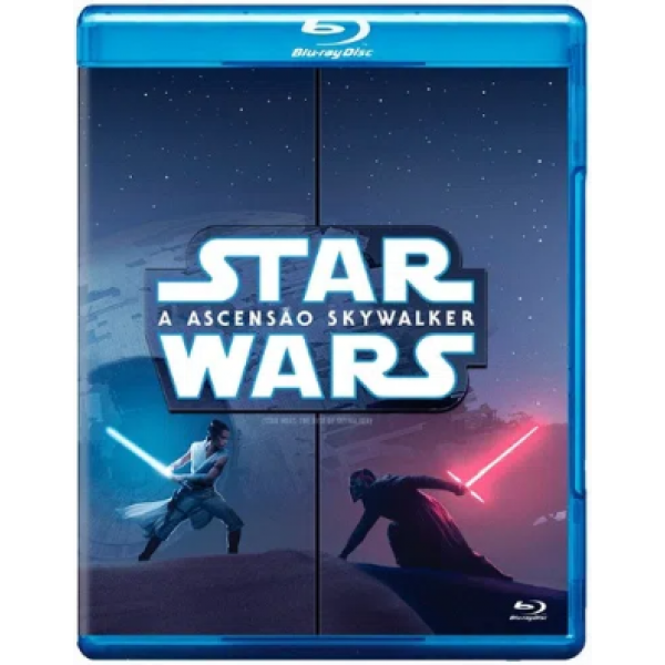 Blu-Ray Star Wars - A Ascensão Skywalker