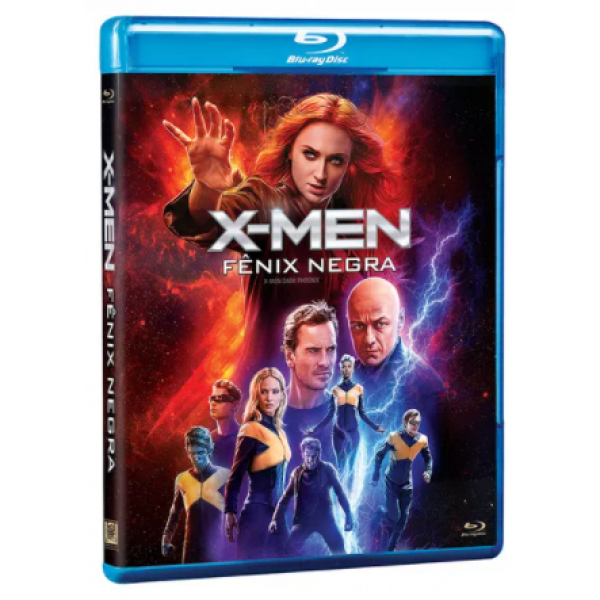 Blu-Ray X-Men - Fênix Negra