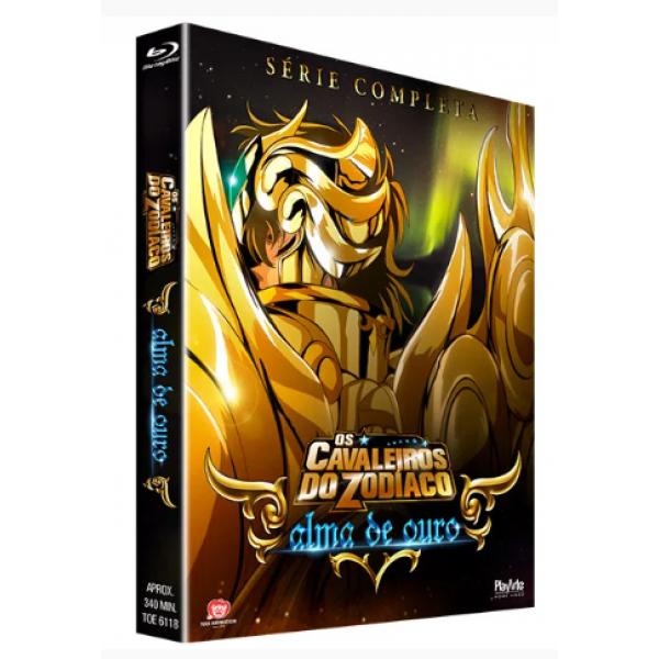 Box Os Cavaleiros do Zodíaco - Alma De Ouro: Série Completa (2 Blu-Ray's)