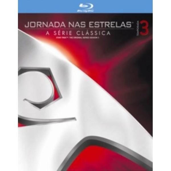 Box Jornada Nas Estrelas - A Série Clássica: Temporada 3 (6 Blu-Ray's)