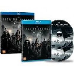 Blu-Ray Liga Da Justiça De Zack Snyder (Duplo)