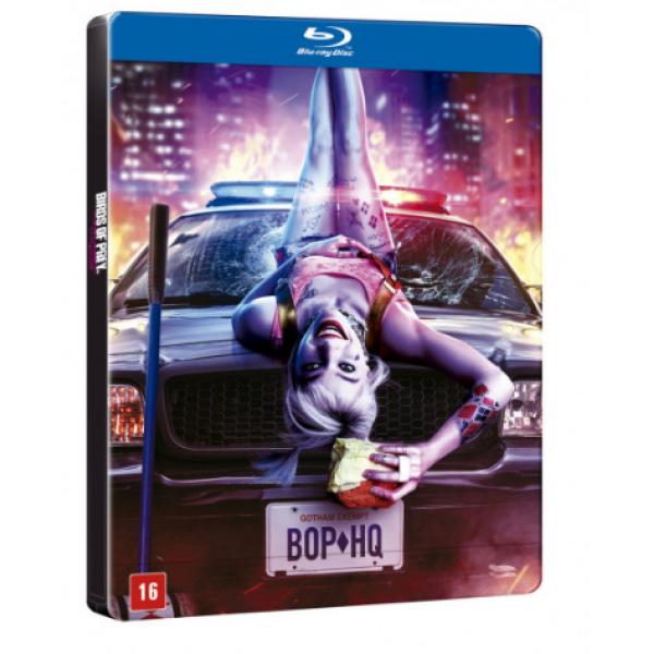 Blu-Ray Aves de Rapina - Arlequina E Sua Emancipação Fantabulosa (Steelbook)