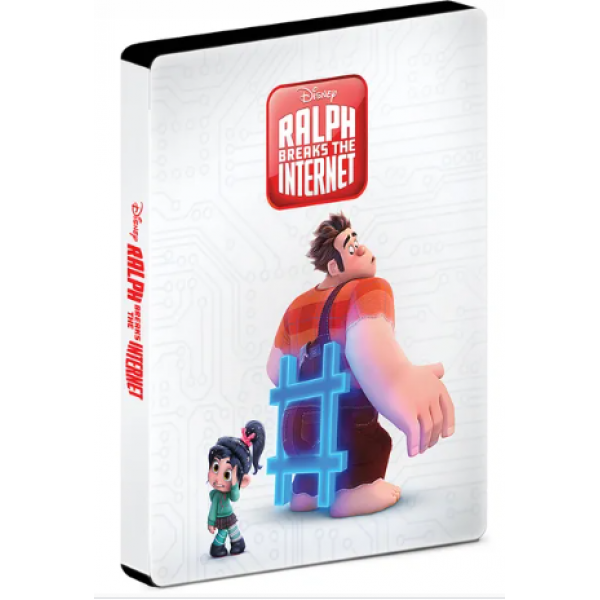 Blu-Ray WiFi Ralph (Steelbook)