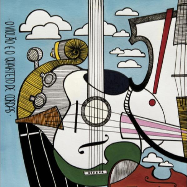CD 5! - O Violão E O Quarteto De Cordas (Digipack)
