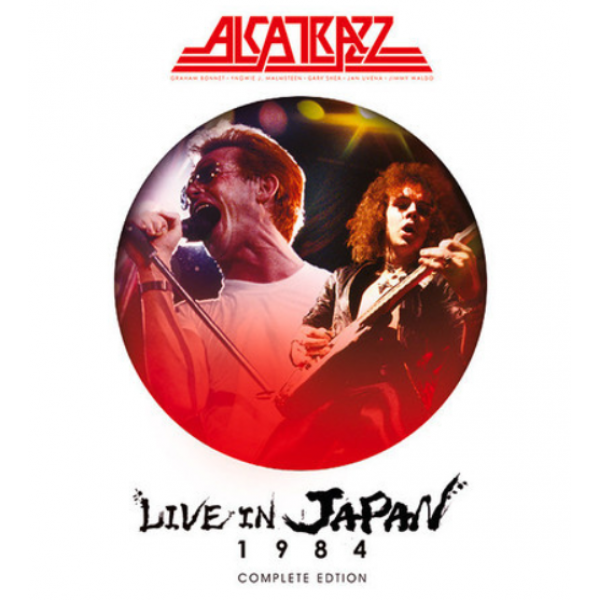Box Alcatrazz - Live In Japan 1984 Complete Edition (2 CD's + DVD)