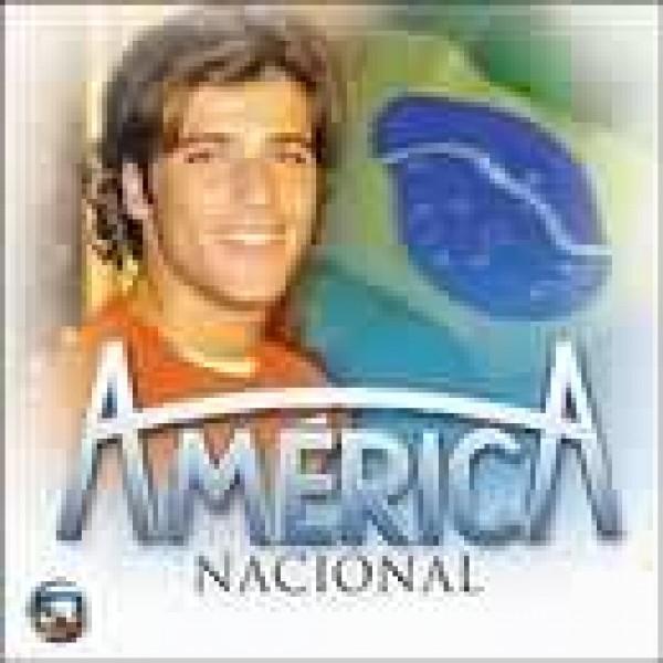 CD América Nacional - Trilha Sonora Da Novela