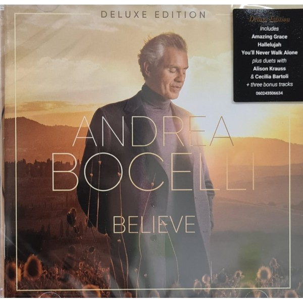 CD Andrea Bocelli - Believe (Deluxe Edition)