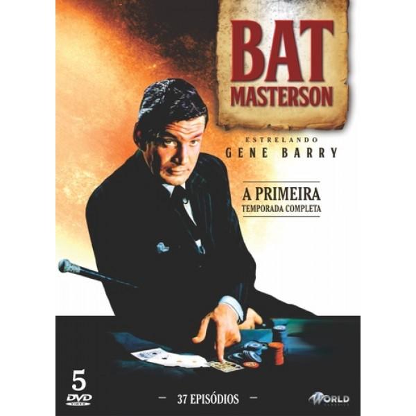 Box Bat Masterson - A Primeira Temporada Completa (5 DVD's)