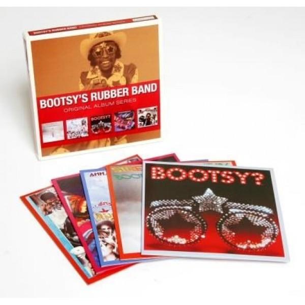 Box Bootsy's Rubber Band - Original Album Series (5 CD's)