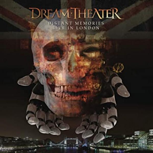 Box Dream Theater - Distant Memories: Live In London (3 CD's + 2 DVD's)