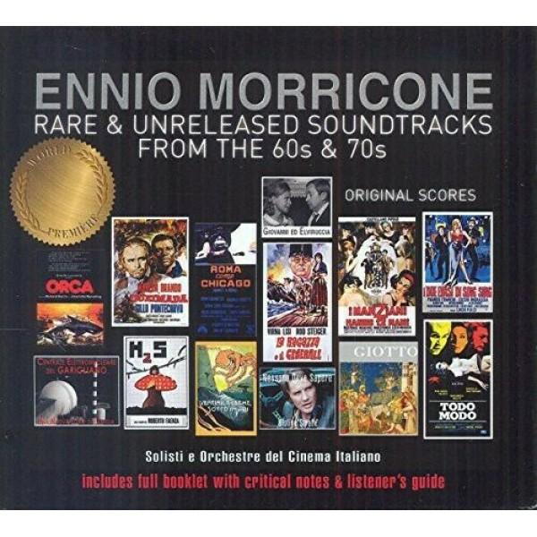 Box Ennio Morricone - Rare & Unreleased Tracks From The 60s & 70s (2 CD's - IMPORTADO)