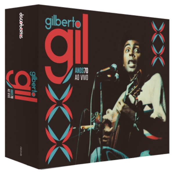 Box Gilberto Gil - Anos 70 Ao Vivo (6 CD's)
