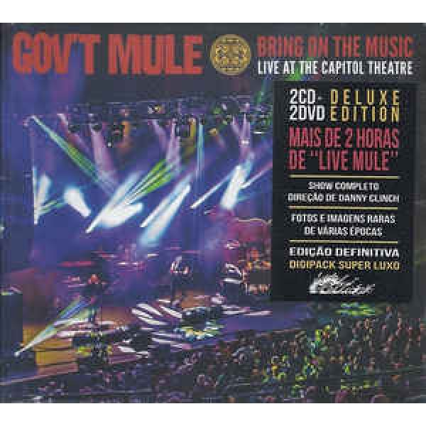 Box Gov't Mule ‎- Bring On The Music (2 CD's + 2 DVD's)