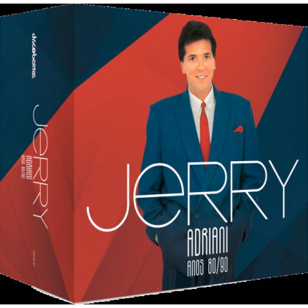 Box Jerry Adriani - Anos 80/90 (6 CD's)