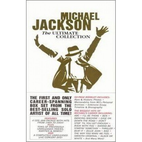 Box Michael Jackson - The Ultimate Collection (4 CD's + DVD - IMPORTADO)