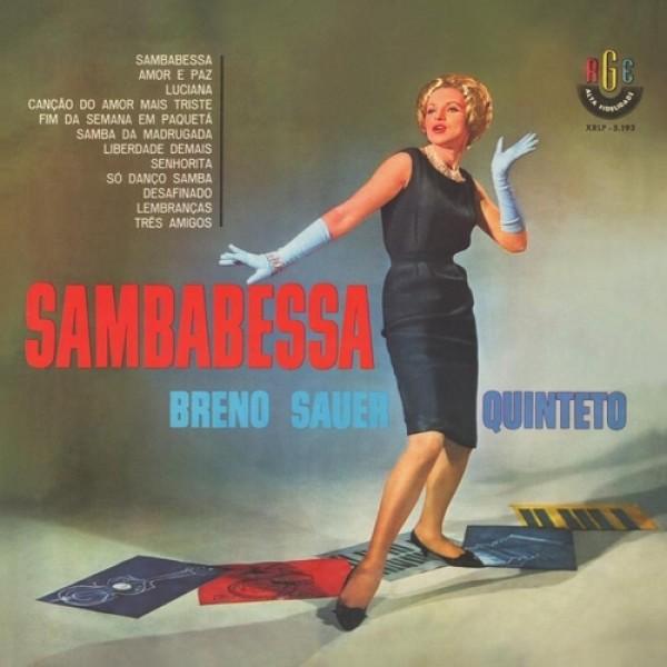 CD Breno Sauer Quinteto - Sambabessa