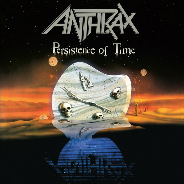 CD Anthrax - Persistence Of Time (IMPORTADO)
